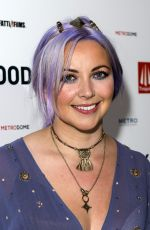 CHARLOTTE CHURCH at Under Milk Wood Premiere in London 10/25/2015