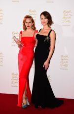 CHARLOTTE DELLAL at 2015 British Fashion Awards in London 11/23/2015