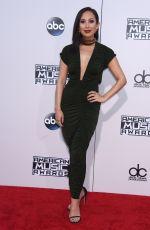 CHERYL BURKE at 2015 American Music Awards in Los Angeles 11/22/2015