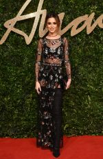 CHERYL COLE at 2015 British Fashion Awards in London 11/23/2015