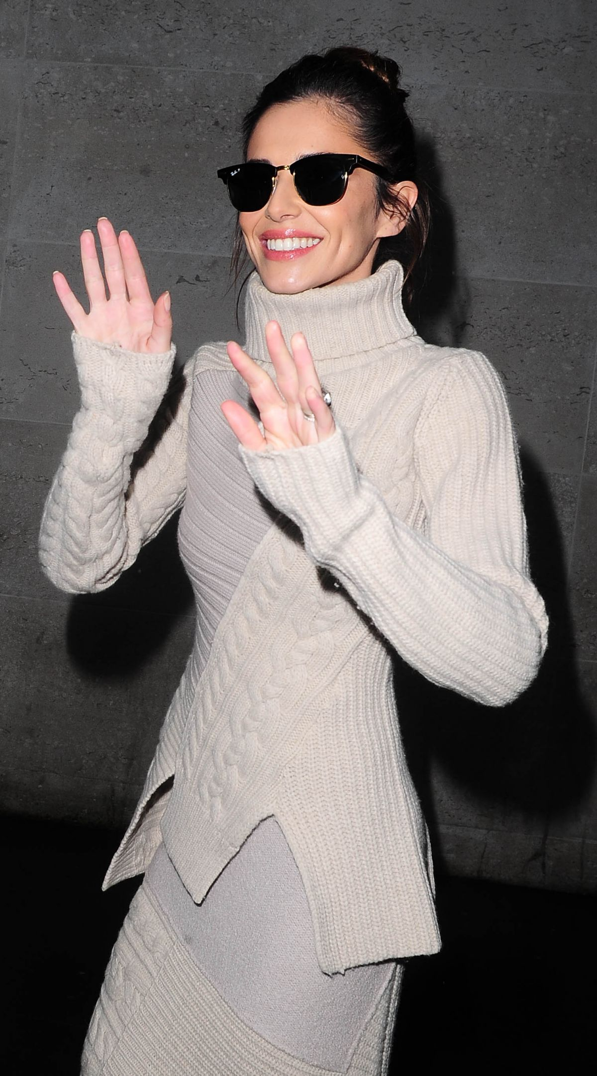 CHERYL COLE at BBC Radio 1 in London 11/24/2015