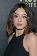 CHLOE BENNET at hfpa and Instyle Celebrate 2016 Golden Globe Award Season in West Hollywood 11/17/2015