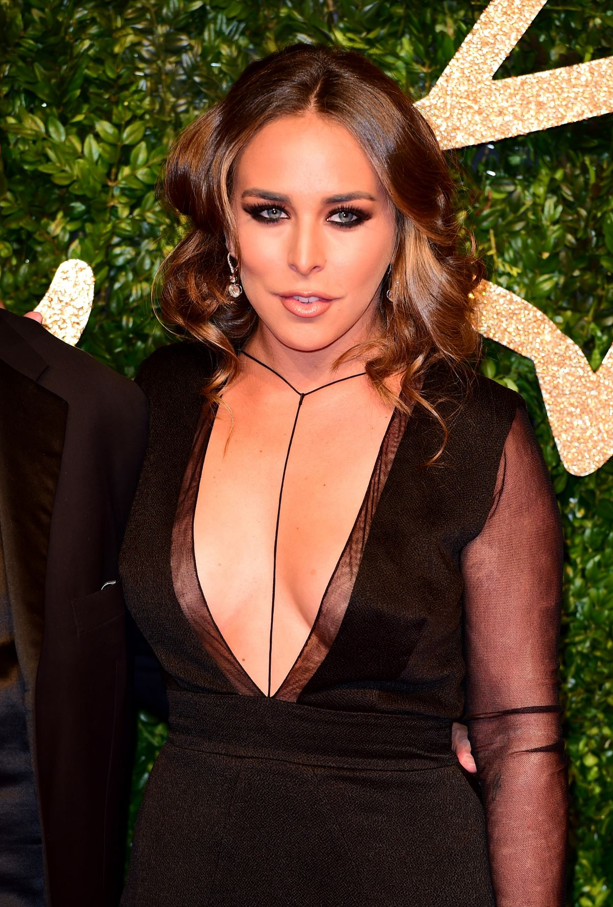CHLOE GREEN at 2015 British Fashion Awards in London 11/23/2015