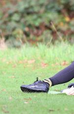 CHLOE MADELEY Working Out at Hampstead Heath  11/12/2015