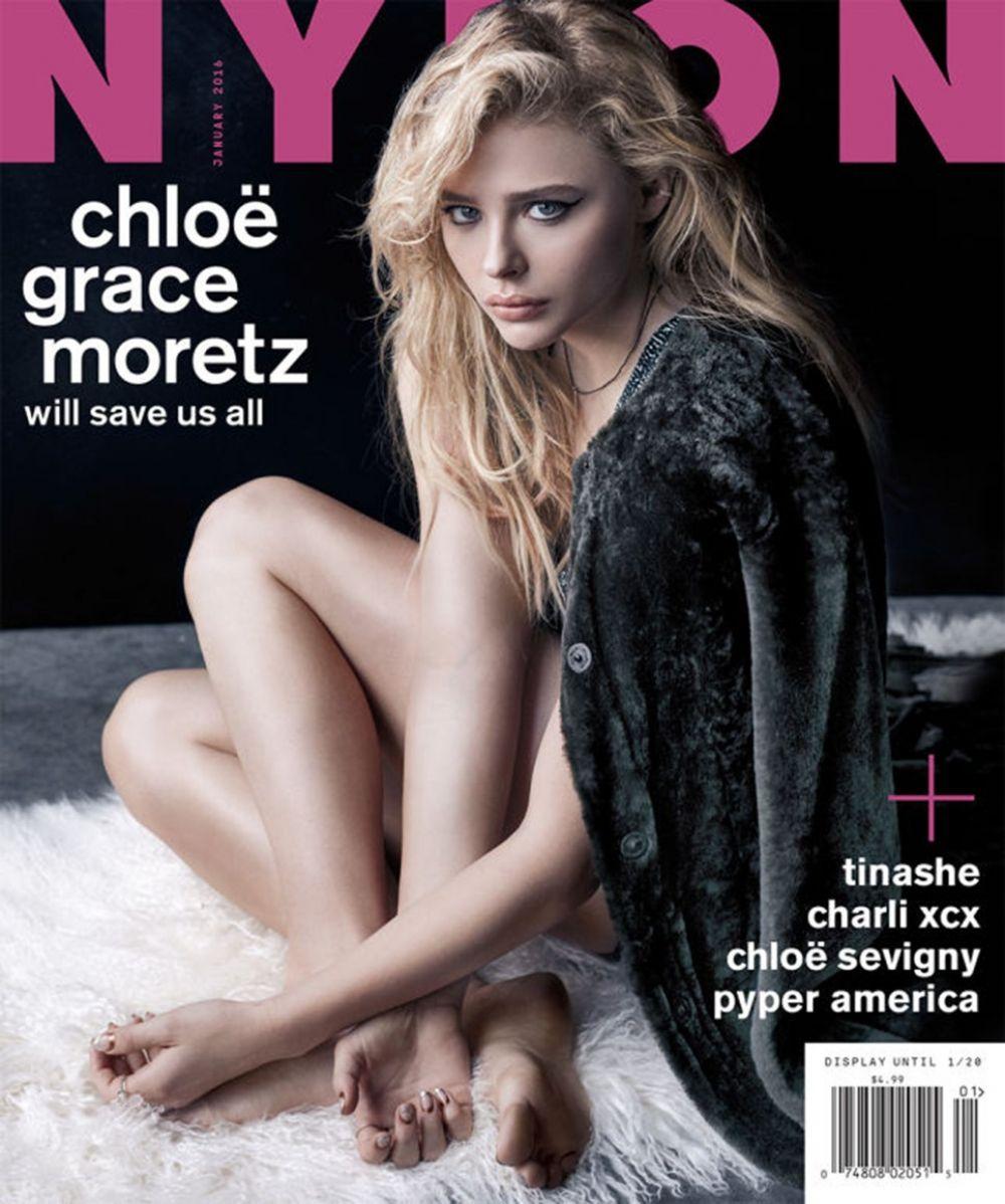 CHLOE MORETZ in Nylon Magazine, December 2015/January 2016 Issue