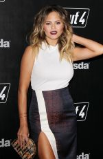 CHRISSY TEIGEN at Fallout 4 Video Game Launch Event in Los Angeles 11/05/2015