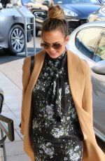 CHRISSY TEIGEN Out and About in Los Angeles 11/24/2015
