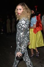 CHRISTA B ALLEN at Just Jared Halloween Party in Hollywood 10/31/2015