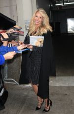 CHRISTIE BRINKLEY Promotes Her Book in New York 11/18/2015