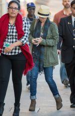 CHRISTINA APPLEGATE Arrives at Jimmy Kimmel Live in Los Angeles 11/11/2015