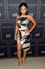 CHRISTINA MILIAN  at Balmain x H&M Los Angeles VIP Pre-launch in West Hollywood 11/04/2015