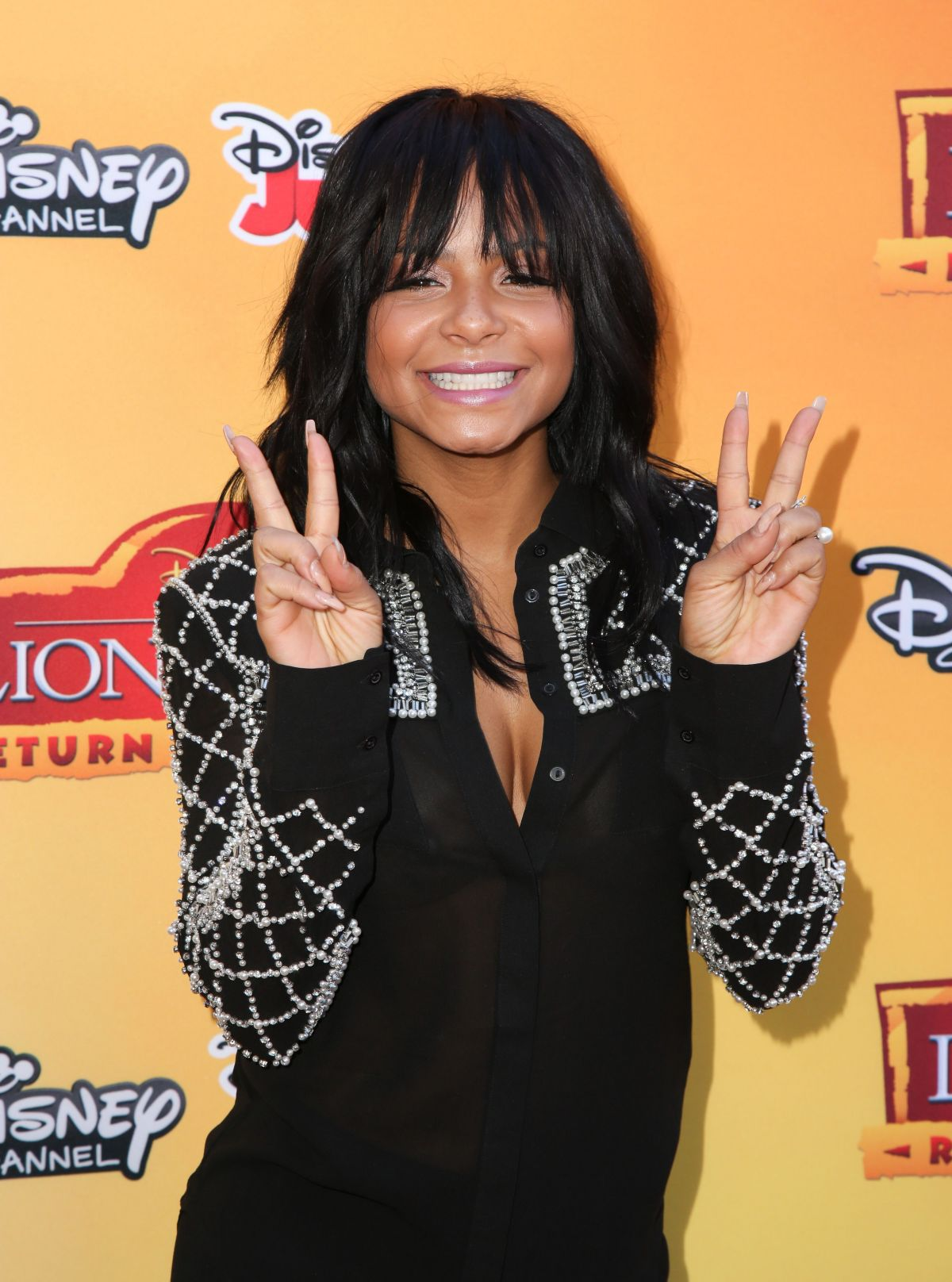 CHRISTINA MILIAN at The Lion Guard: Return of the Roar Premiere in Burbank 11/14/2015