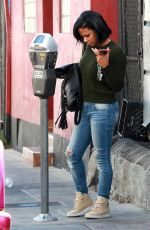 CHRISTINA MILIAN in Ripped Jeans Out in Los Angeles 11/04/2015