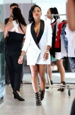 CHRISTINA MILIAN on the Set of Her Like Me Music Video in Los Angeles 11/21/2015