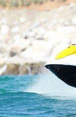CIARA in Bikini Bottoms Jet Skiing on Vacation in Punta Mita 11/07/2015