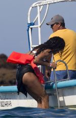 CIARA in SWIMSUIT at a Beach in Mexico 11/07/2015