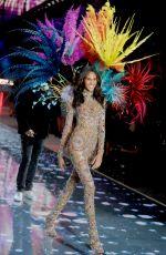 CINDY BRUNA at Victoria's Secret 2015 Fashion Show in New York 11/10/2015