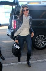 CINDY CRAWFORD Arrives at LAX Airport in Los Angeles 11/16/2015