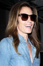 CINDY CRAWFORD Los Angeles International Airport 11/18/2015