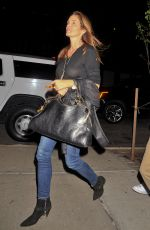 CINDY CRAWFORD Night Out in New York 11/22/2015