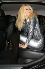 CLAUDIA SCHIFFER at Jonatha Ross