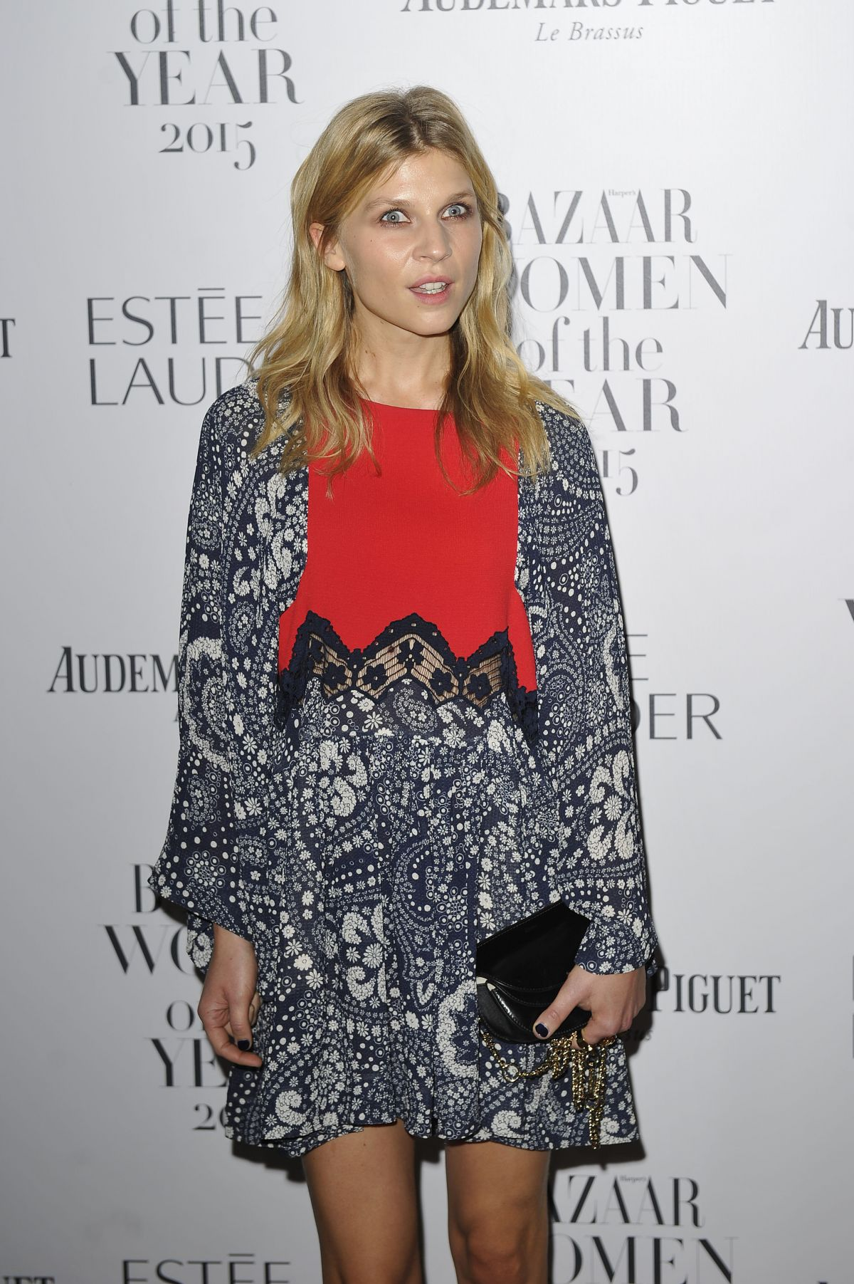 CLEMENCE POESY at Harper