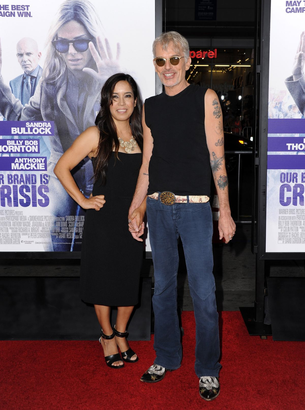 connie angland at our brand is crisis premiere in