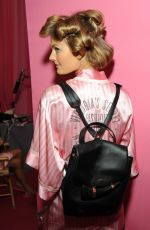 CONSTANCE JABLONSKI at Victoria's Secret 2015 Fashion Show Backstage 11/10/2015
