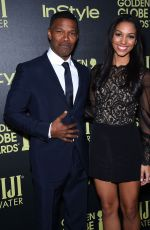 CORINNE FOXX at hfpa and Instyle Celebrate 2016 Golden Globe Award Season in West Hollywood 11/17/201526