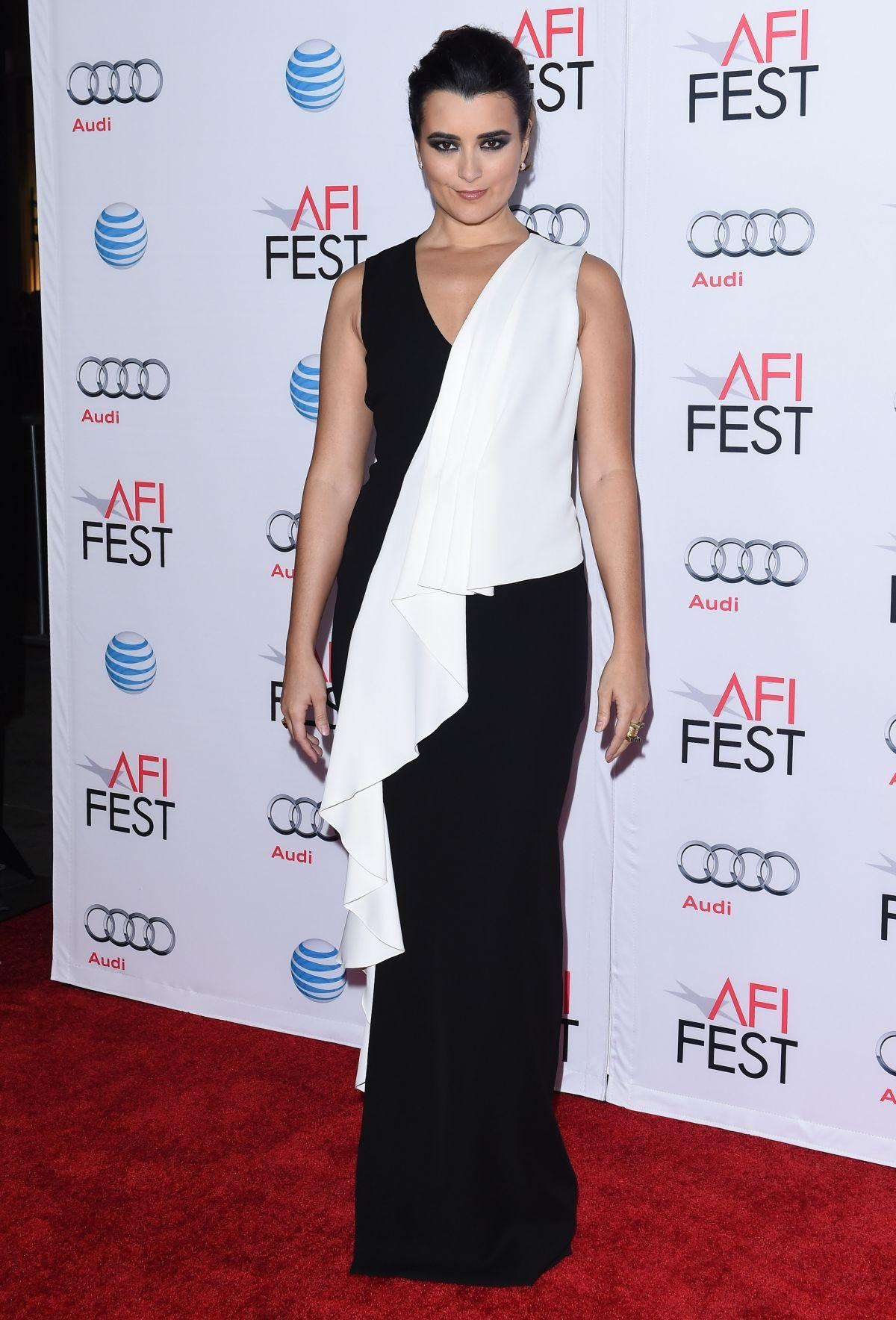 COTE DE PABLO at 22 Premiere at 2015 AFI Fest in Hollywood 11/09/2015