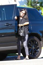 COURTENEY COX Arrives at a Friends House in Los Angeles 10/29/2015