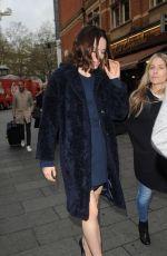 DAISY RIDLEY Arrives at Global Radio Studios in London 11/17/2015