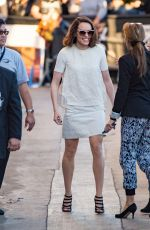 DAISY RIDLEY Arrives at Jimmy Kimmel Live! 11/23/2015