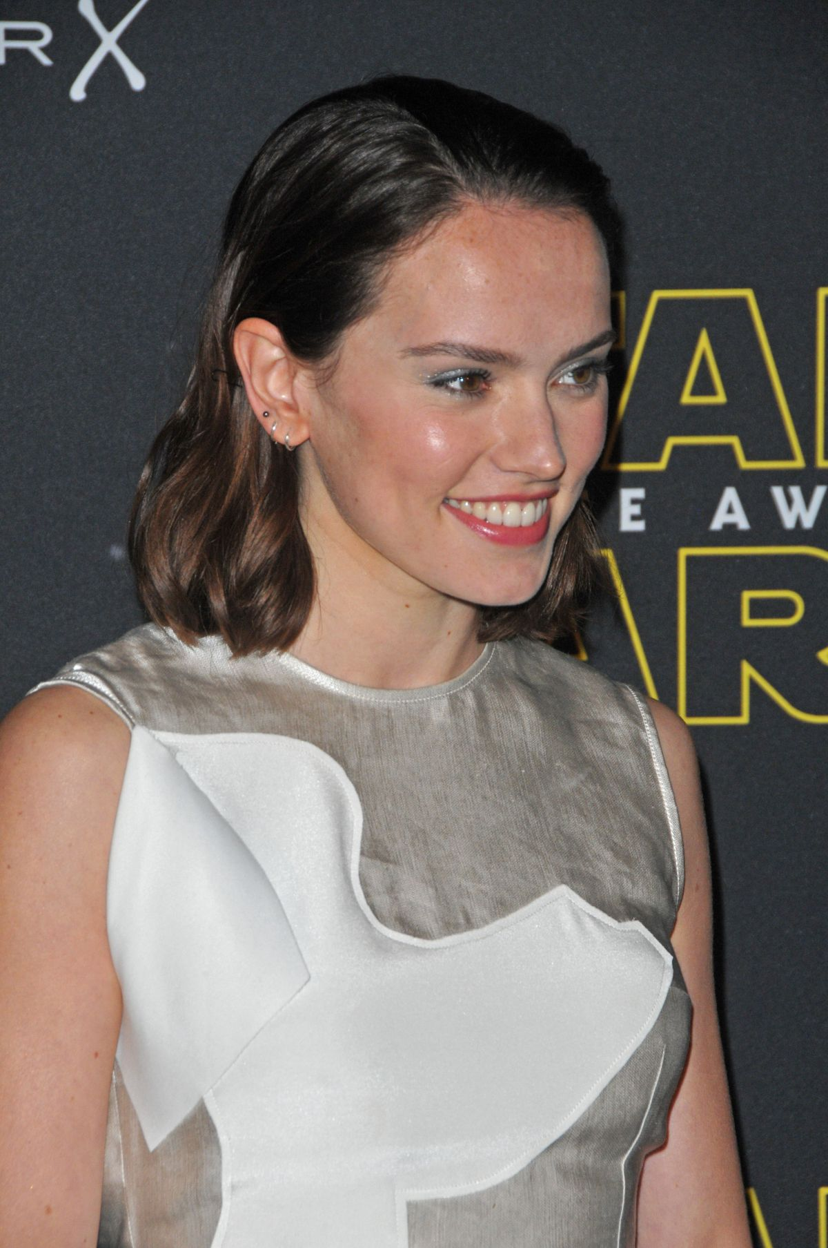 DAISY RIDLEY at Fashion Finds the Force Event in London 11/26/2015