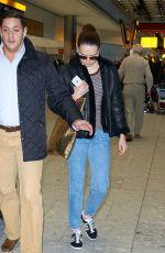 DAISY RIDLEY at Heathrow Airport in London 11/25/2015