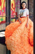 DAISY RIDLEY in Elle Magazine, December 2015 Issue