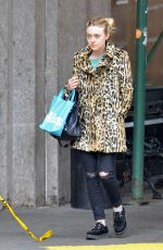 DAKOTA FANNING Out and About in New York 11/12/2015