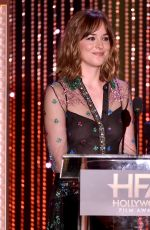 DAKOTA JOHNSON at 2015 Hollywood Film Awards in Beverly Hills 11/01/2015