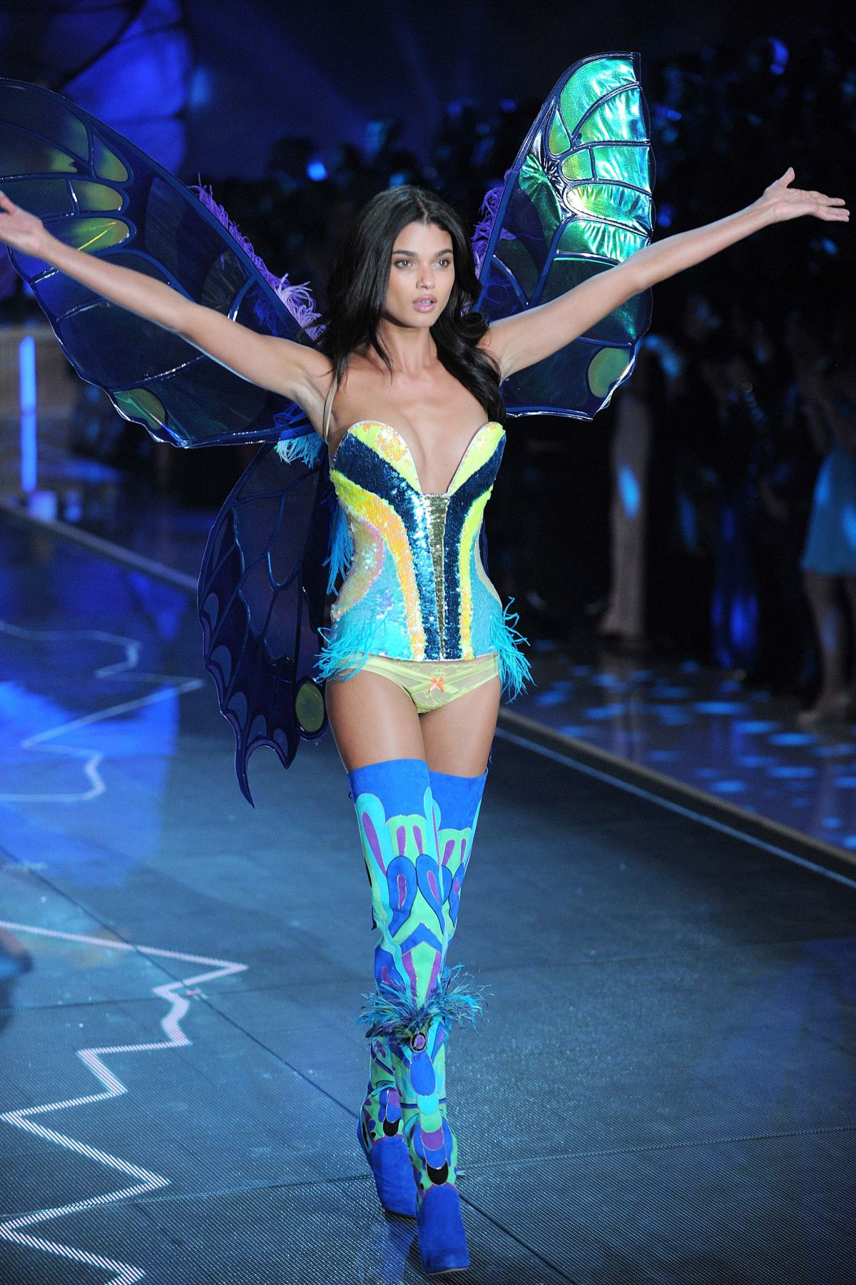 DANIELA BRAGA at Victoria's Secret 2015 Fashion Show in New York 11/10/2015