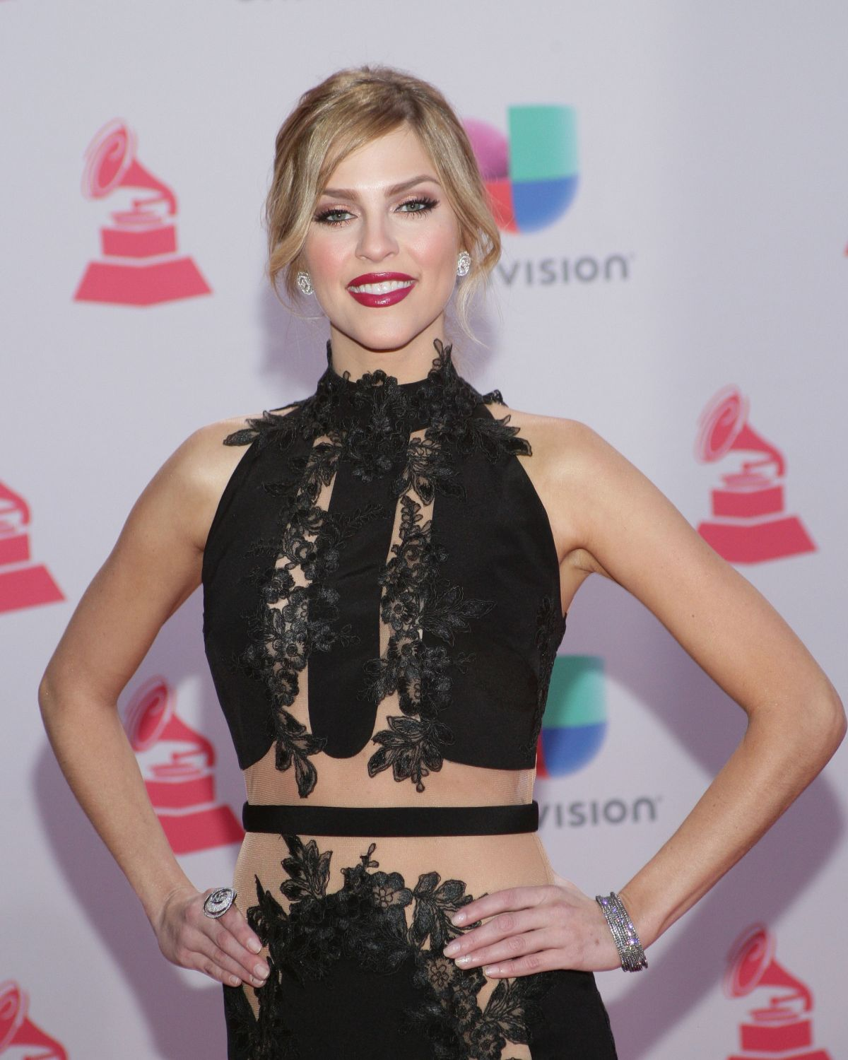 DANIELA DI GIACOMO at 2015 Latin Grammy Awards in Las Vegas 11/18/2015