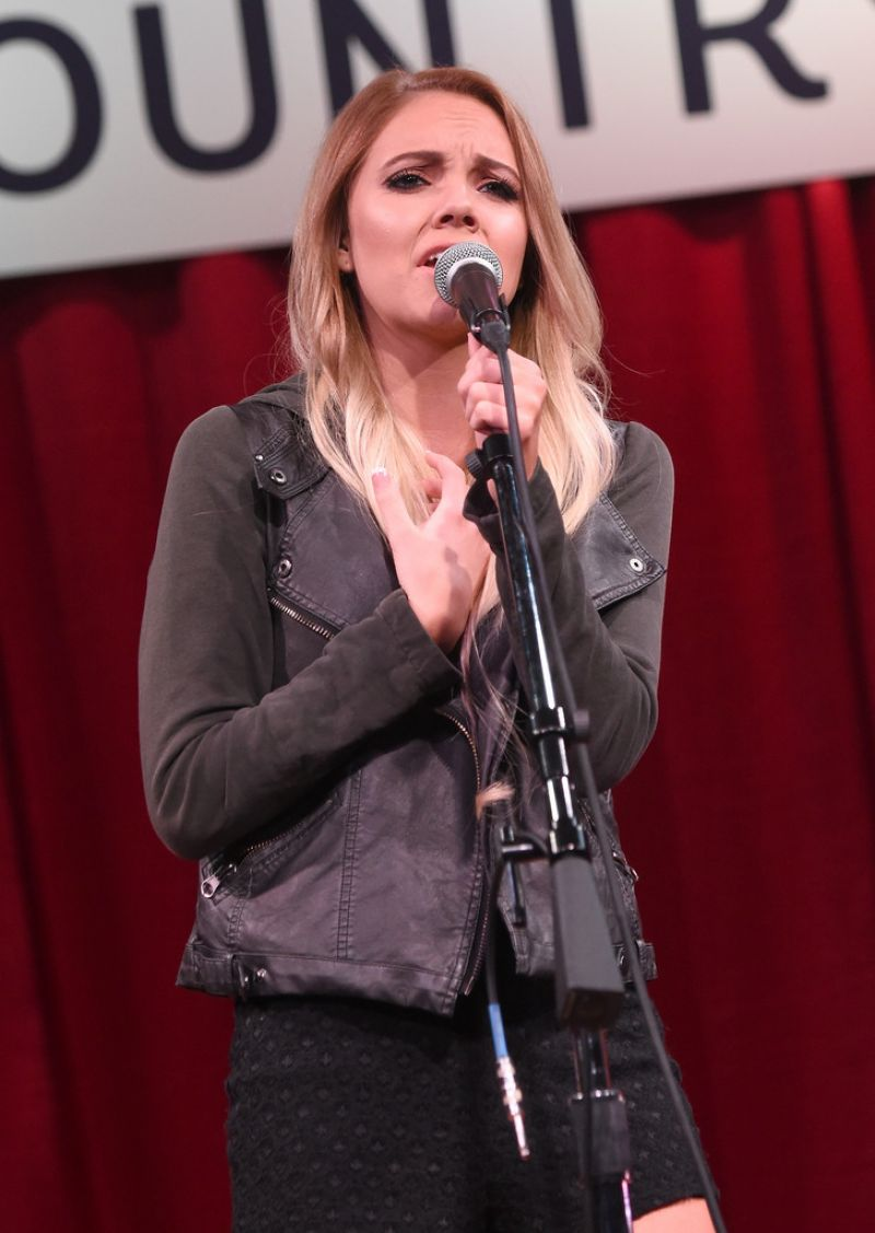 DANIELLE BRADBERY at 2015 Next Women of Country Event in Nashville 11/03/2015