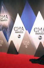 DANIELLE BRADBERY at 49th Annual CMA Awards in Nashville 11/04/2015