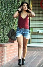 DANIELLE CAMPBELL in Cut off Out Shopping in West Hollywood 11/22/2015