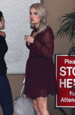 DEBBY RYAN Out and About in West Hollywood 11/19/2015