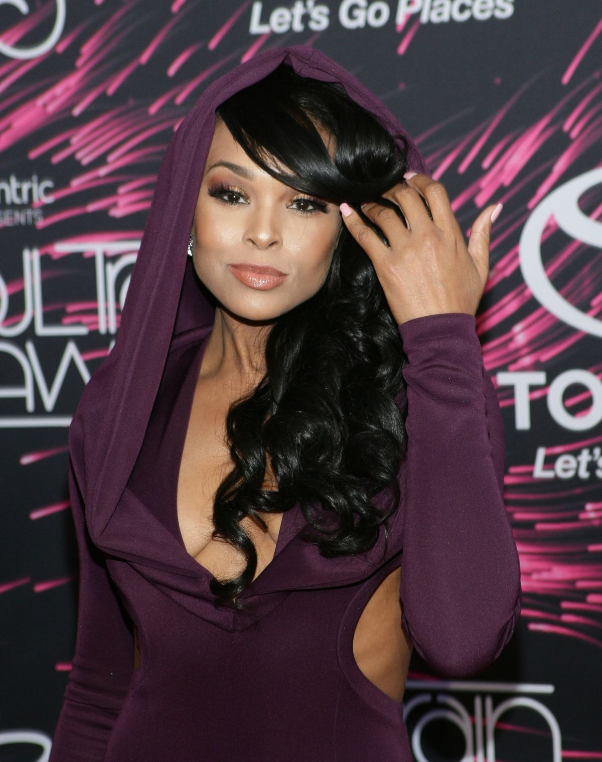 DEMETRIA MCKINNEY at 2015 Soul Train Music Awards in Las Vegas 11/06/2015