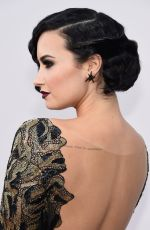DEMI LOVATO at 2015 American Music Awards in Los Angeles 11/22/2015