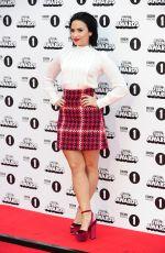 DEMI LOVATO at BBC Radio 1 Teen Awards in London 11/08/2015