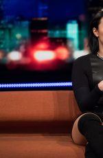 DEMI LOVATO at Senkveld Talk Show in Sweden 11/05/2015