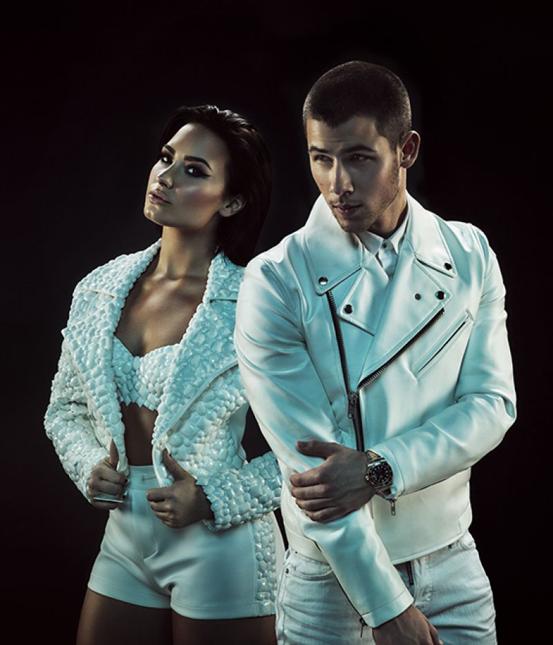 DEMI LOVATO - Future Now Tour Promoshoot
