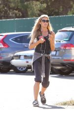 DENICE RICHARDS in Leggings and Tank Top Out in Malibu 11/06/2015